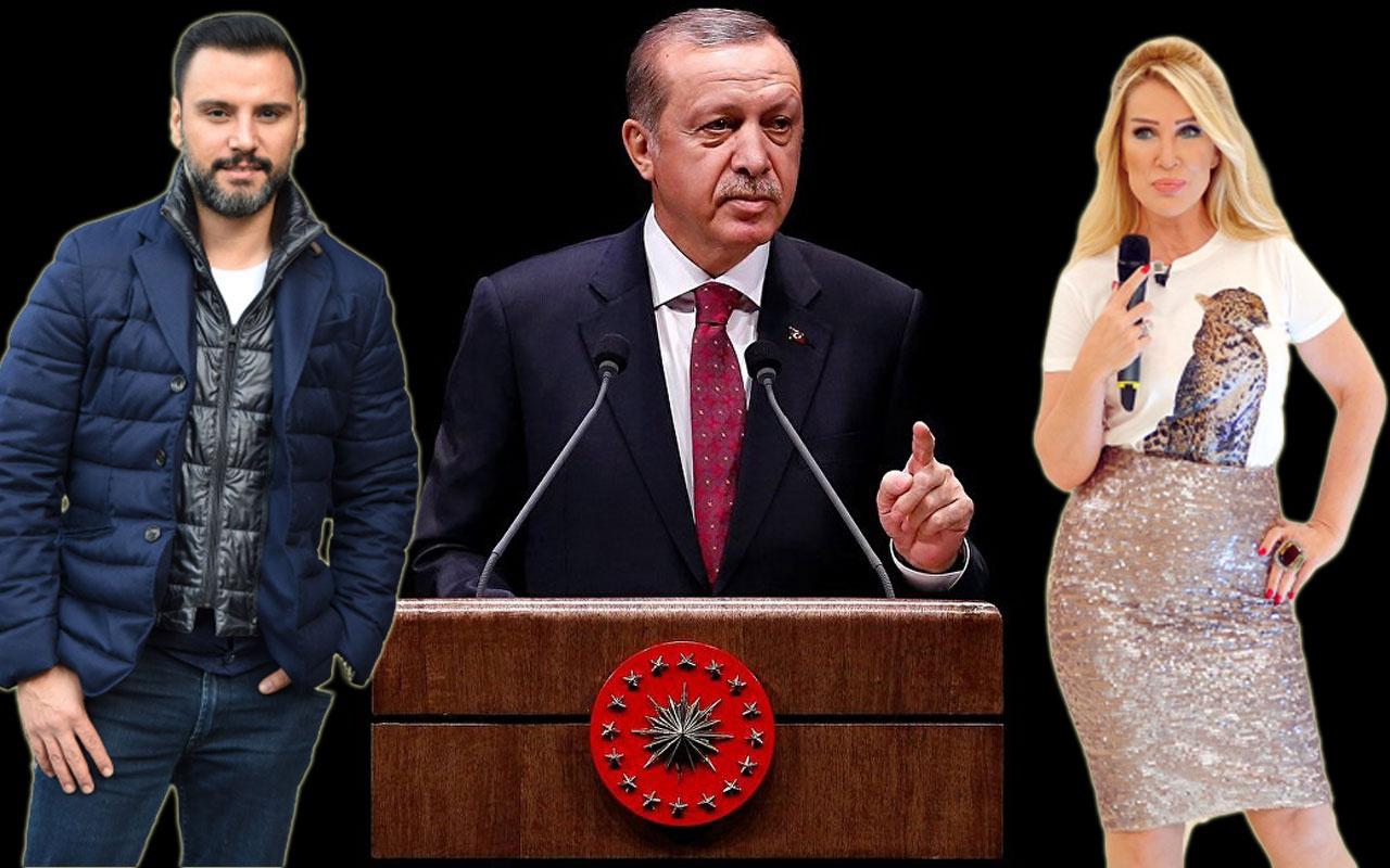 Cumhurbaşkanı Erdoğan'a ünlü isimlerden sosyal medya desteği!