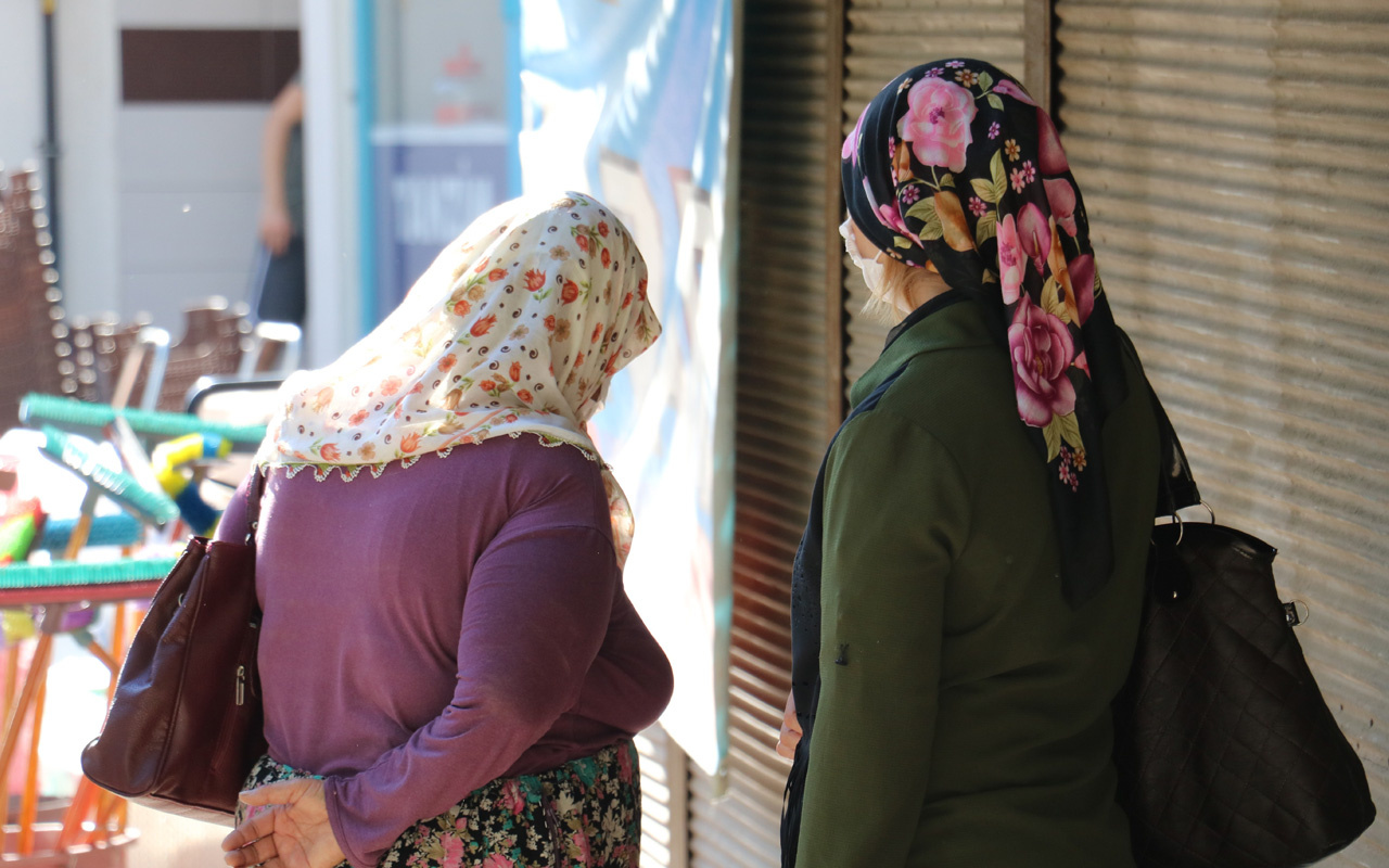 Kahramanmaraş'ta hırsızlık yapan anne ile kıza maske cezası