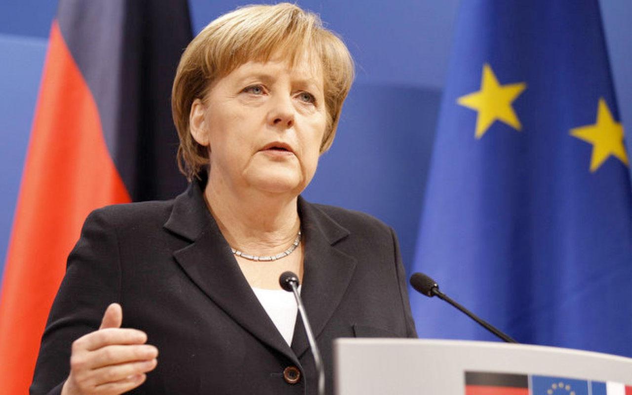 Angela Merkel'den kritik zirve öncesi Türkiye açıklaması