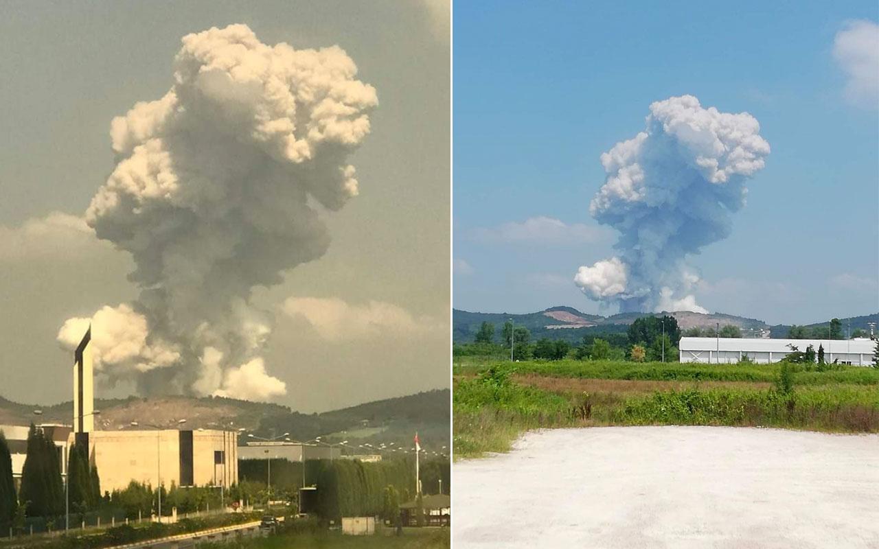 Sakarya'daki havai fişek fabrikasında son 11 yılda üçüncü patlama