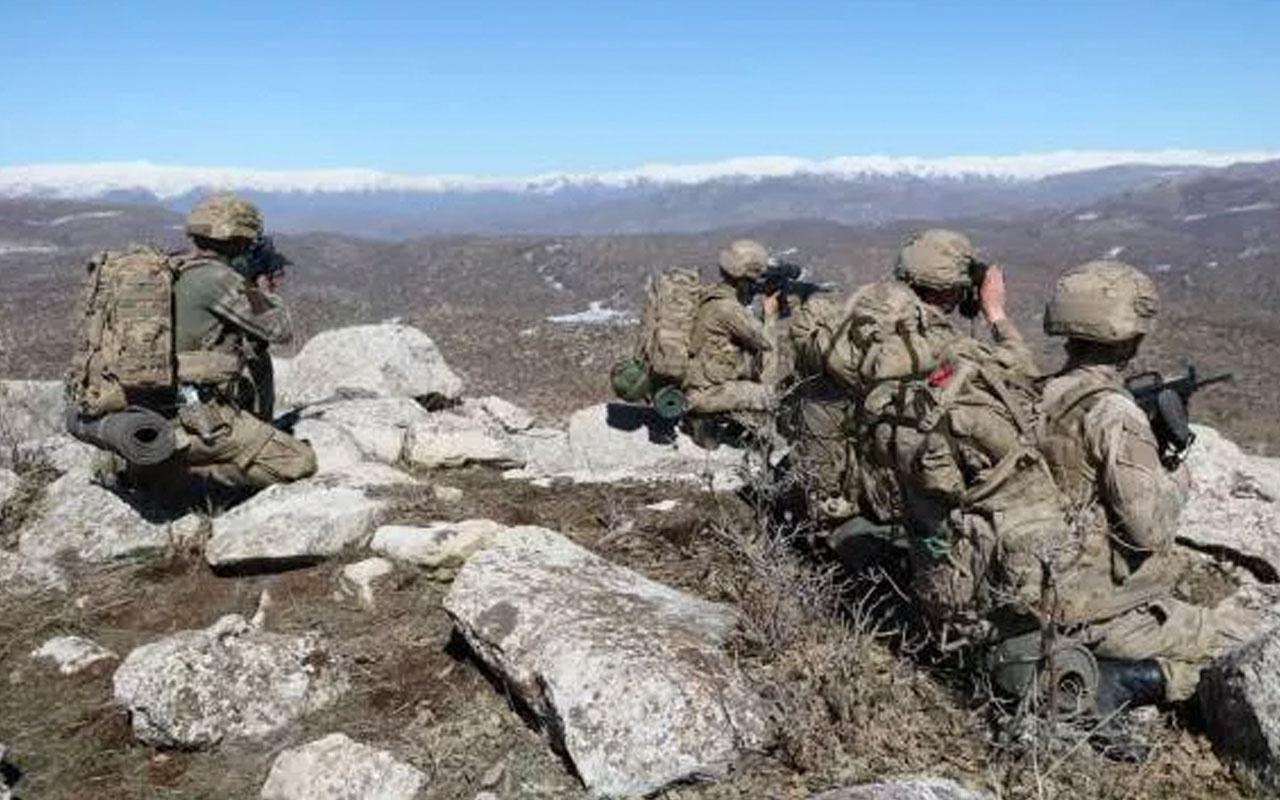 Tunceli'de hava destekli operasyonda PKK'ya darbe! 2 terörist öldürüldü