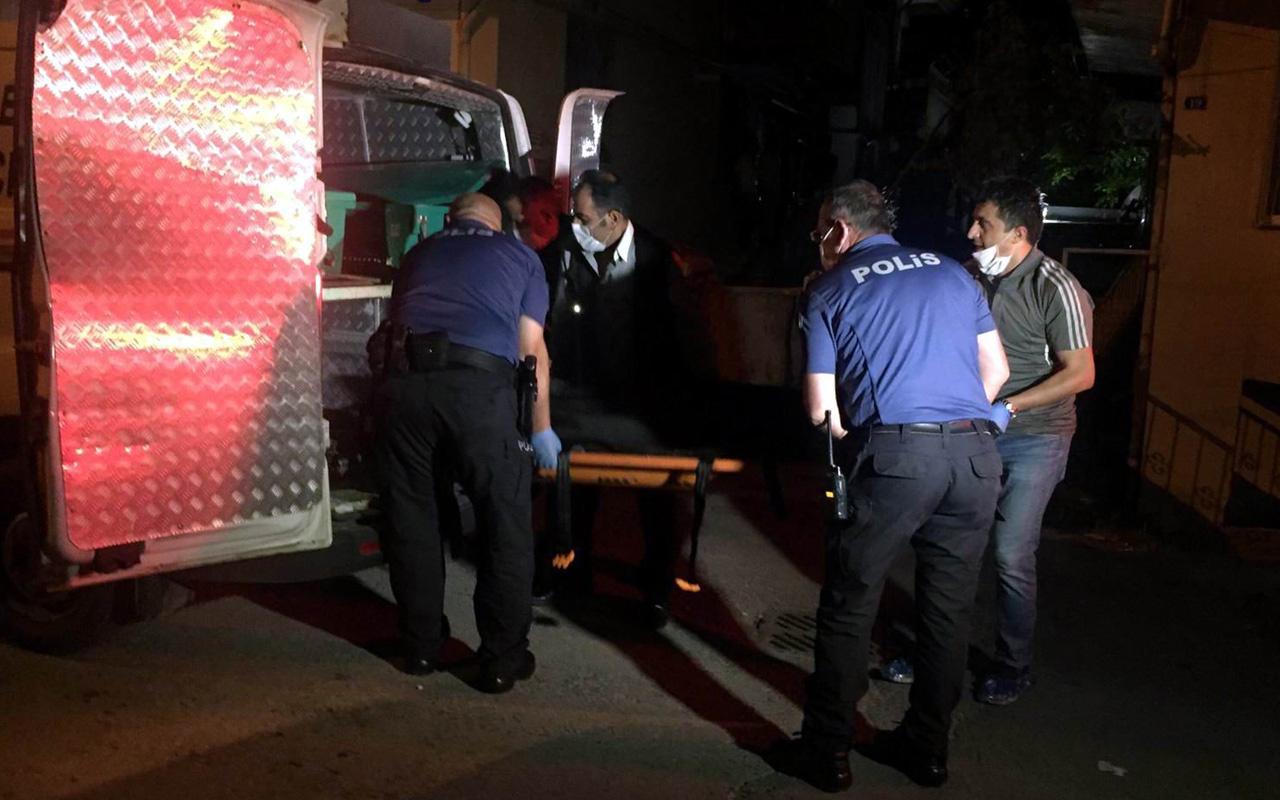 Kayseri'de 6 kişinin yaşadığı evde bir kişi sırtından vuruldu