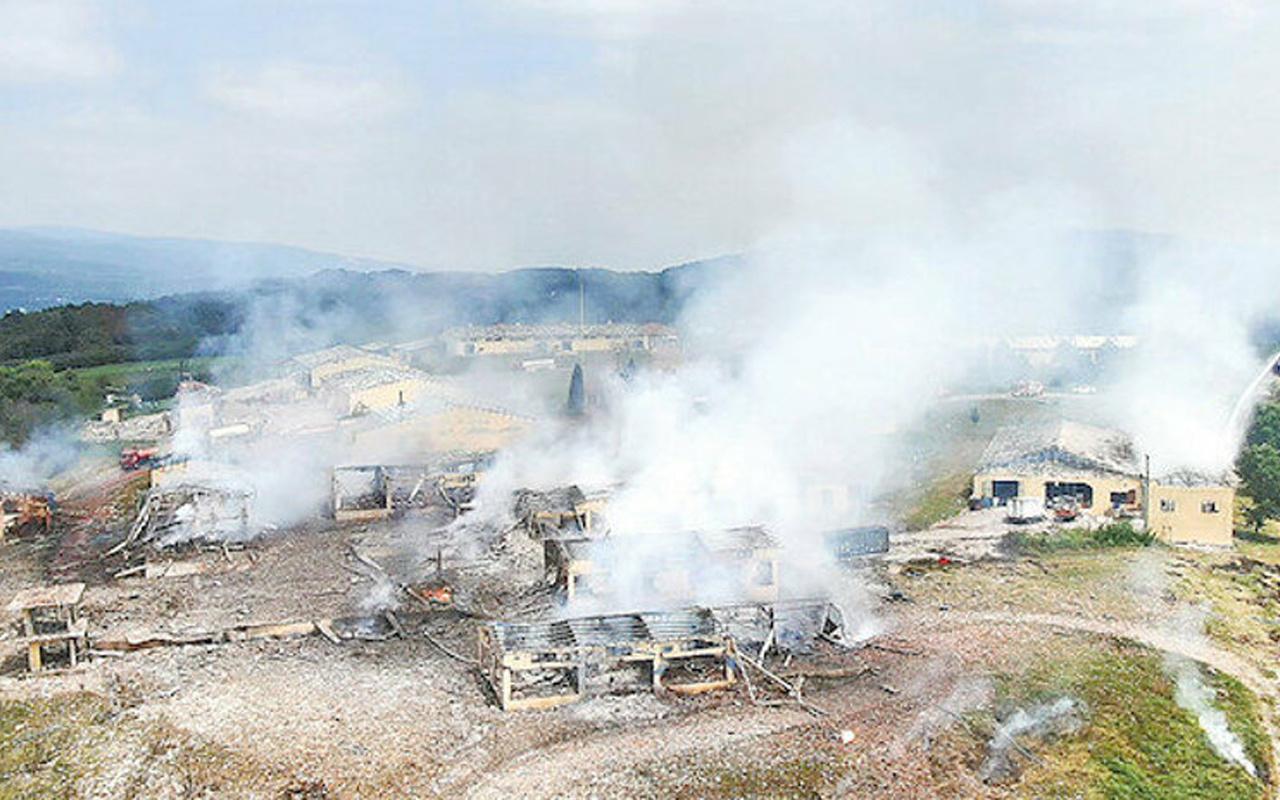 Sakarya'daki patlamadan acı haber! 2 işçinin daha cenazesine ulaşıldı