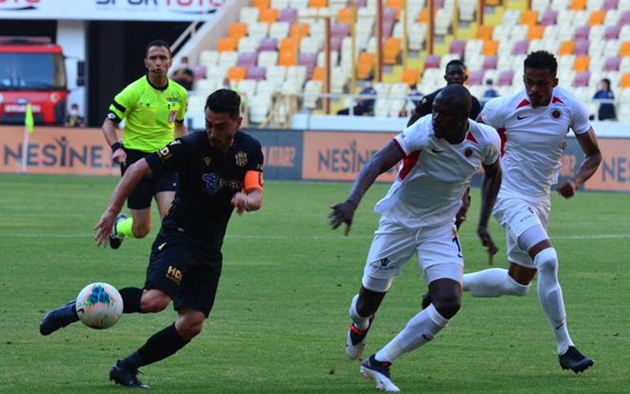 Yeni Malatyaspor, Gençlerbirliği ile puanları paylaştı
