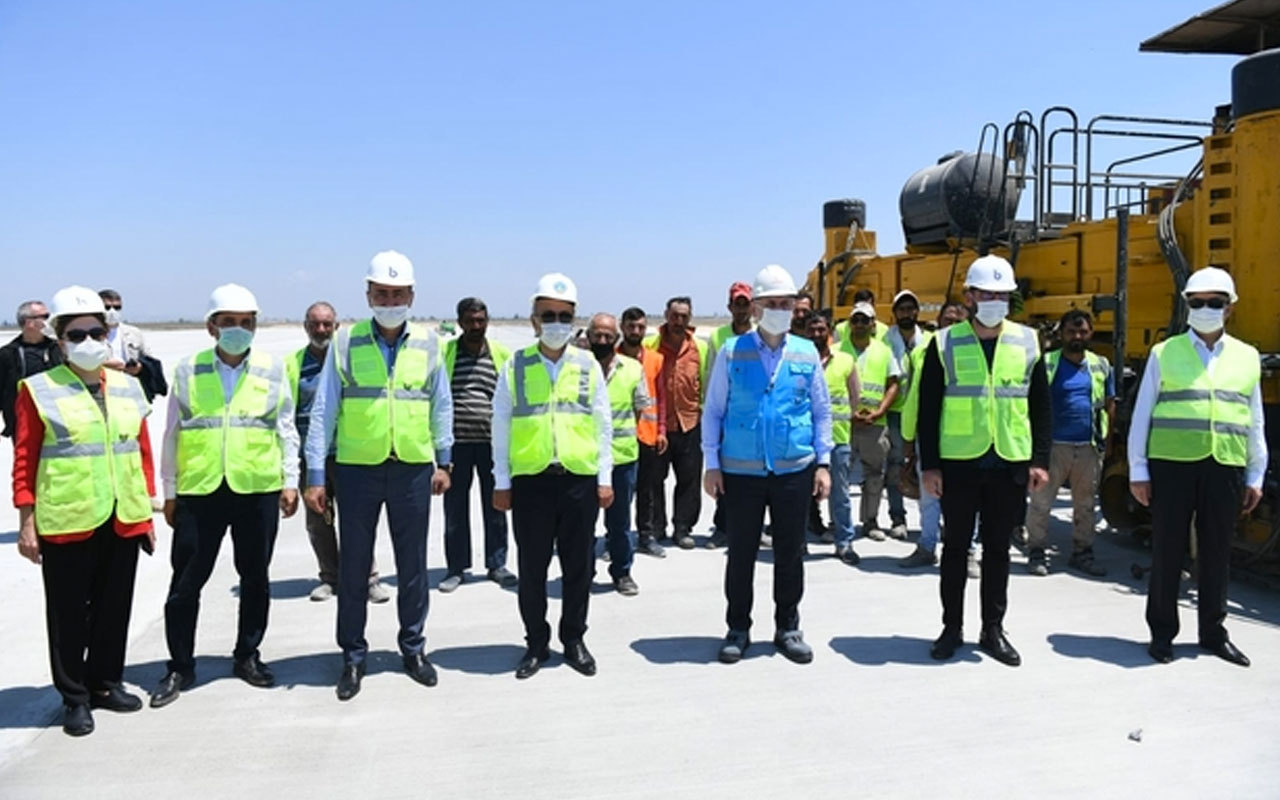 Bakan Karaismailoğlu'dan Mersin'e müjde! Havalimanı 2 yıl içinde tamamlanacak