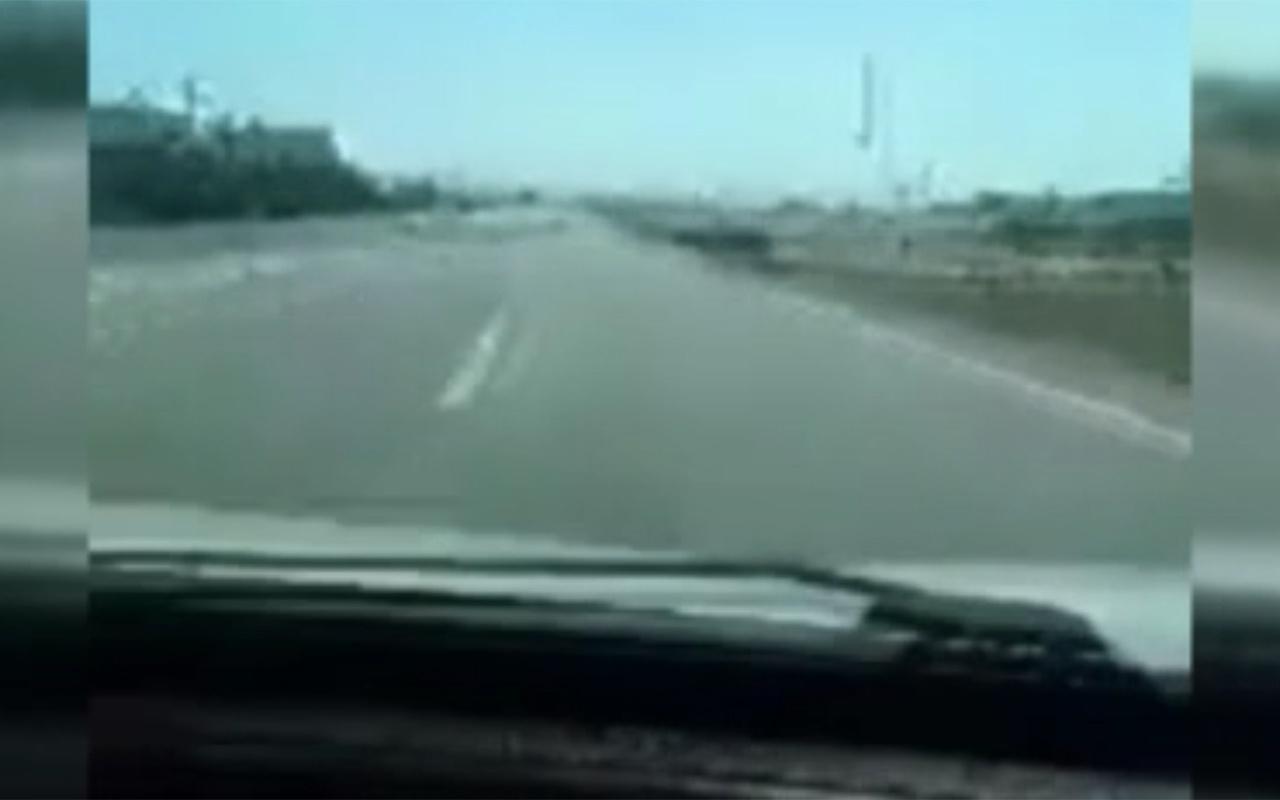 Kahramanmaraş'ta canlı yayına girdikten 6 saniye sonra feci kaza