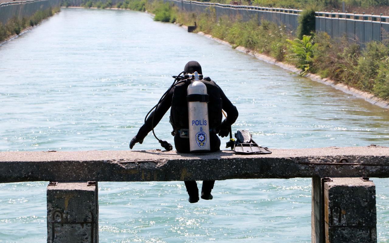 Adana'da kanala giren 18 yaşındaki genç kayboldu