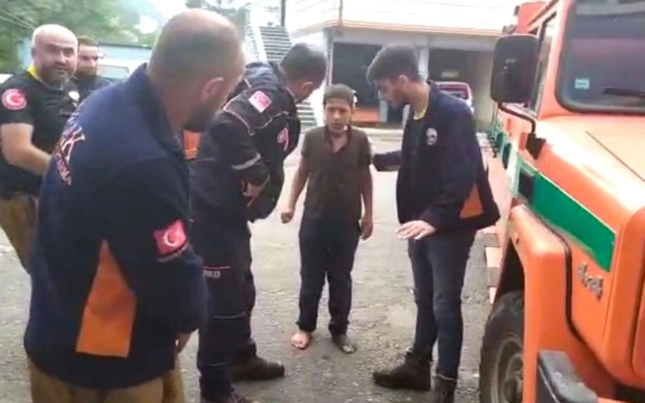 Rize'de kaybolan 11 yaşındaki İmam Can'dan iyi haber! 12 km uzaklıkta bulundu