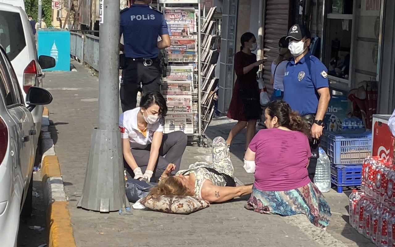 İstanbul'un göbeğinde sevgiliye silahlı saldırı dehşeti