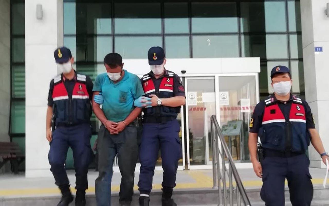 Kayseri'de tartıştığı eşini balkondan aşağı attı tutuklandı