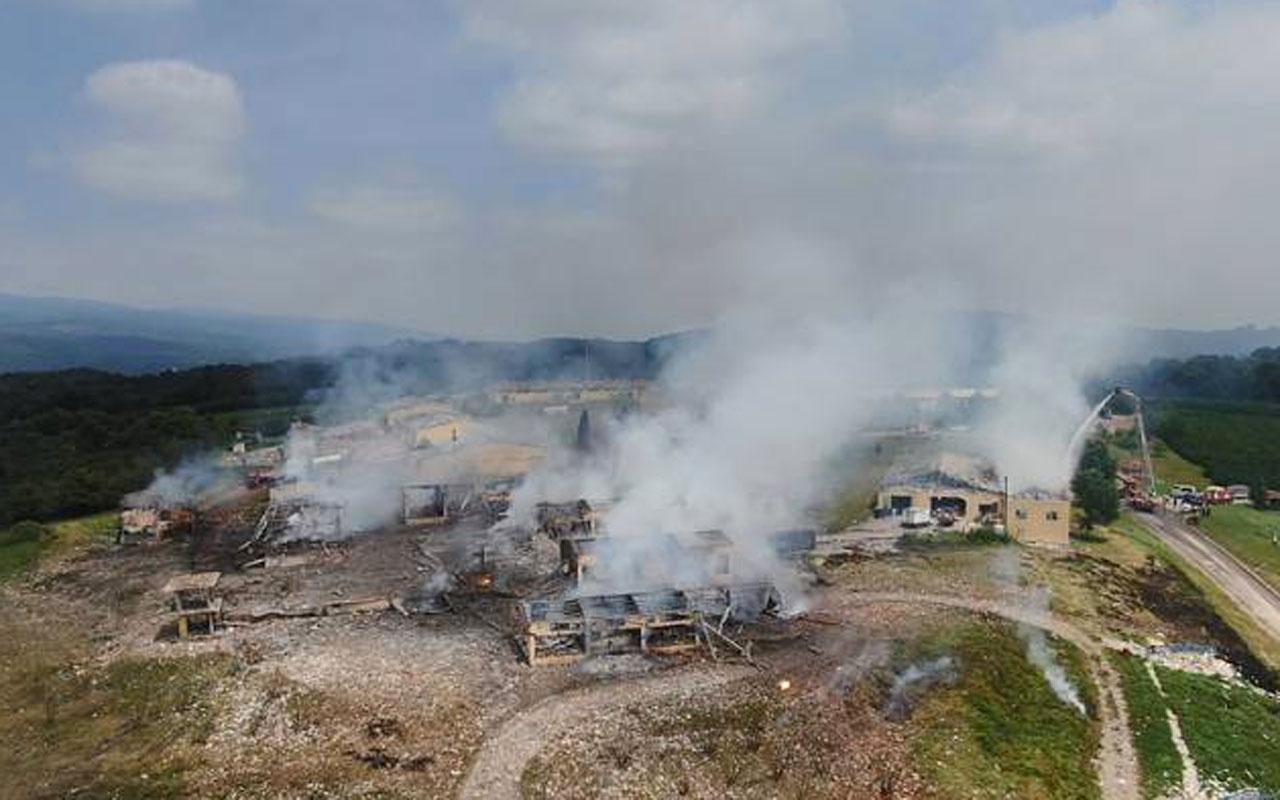 Sakarya'daki havai fişek fabrikası patlamasında flaş gelişme