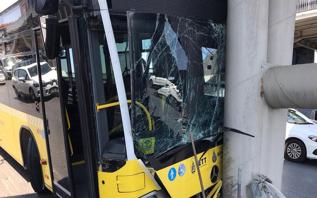 Beylikdüzü'nde trafiği felç eden kaza! Yaralılar var