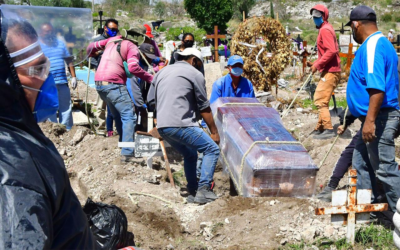 Meksika'da korona virüsten ölenlerin sayısı Fransa'yı geçti