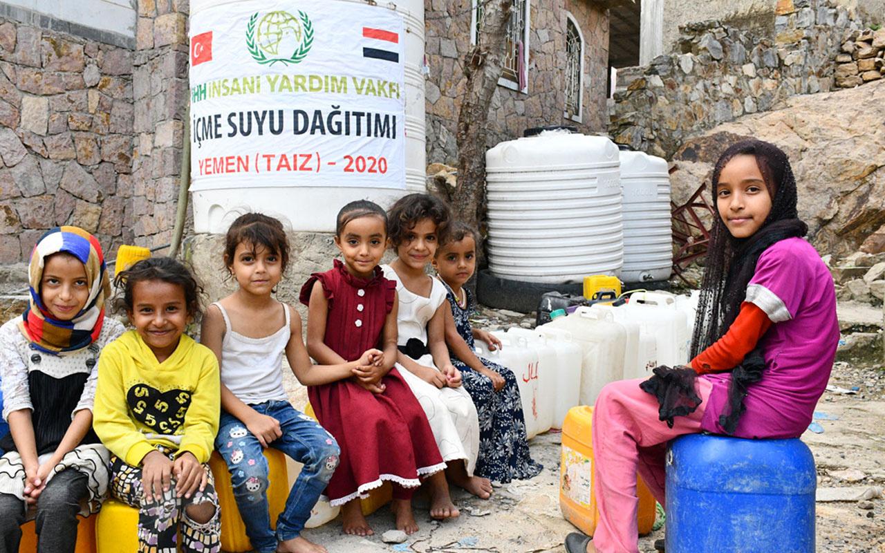 Türkiye'den insani krizin sürdüğü Yemen'e 250 bin kişilik yardım!