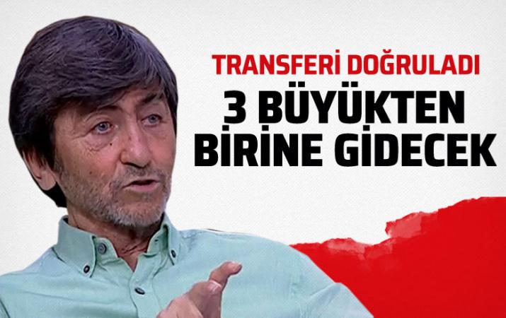 Rıdvan Dilmen transferi duyurdu: Üç büyükten birine gidecek