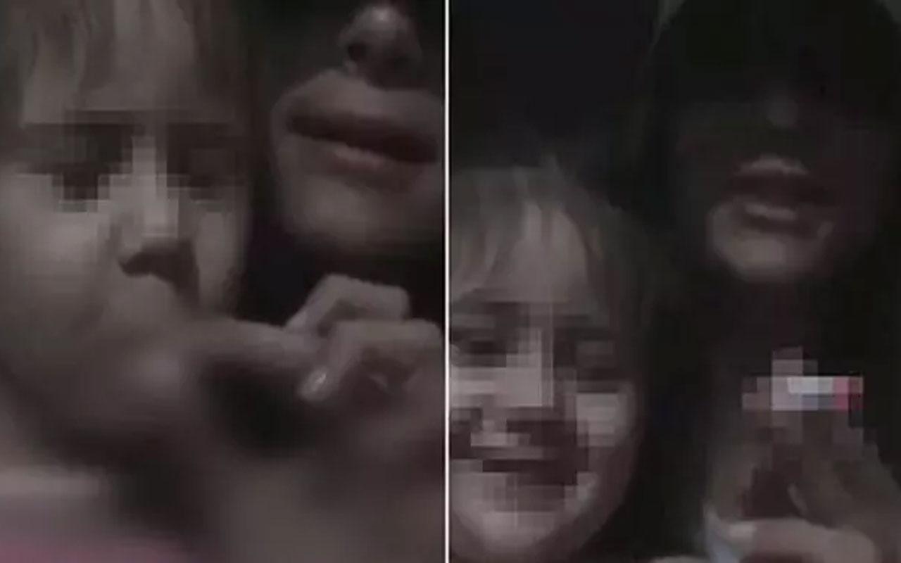 3 yaşındaki kuzenine canlı yayında sigara içiren kişi gözaltına alındı