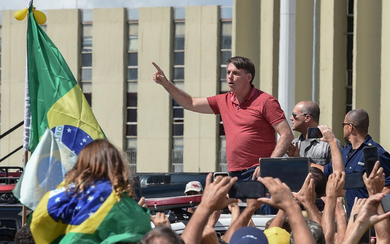 Brezilya lideri koronavirüse yakalandı
