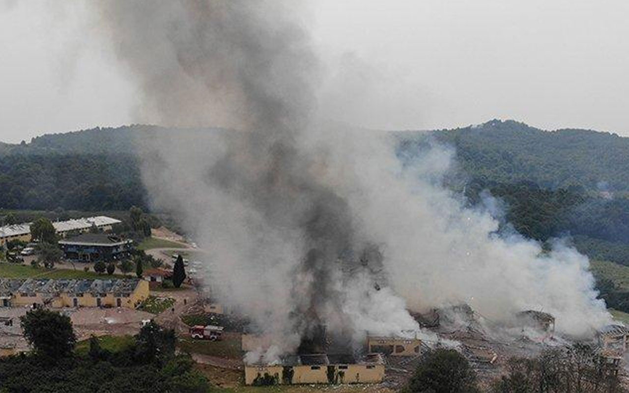 Patlayan havai fişek fabrikası sahibi 2 kişi gözaltına alındı
