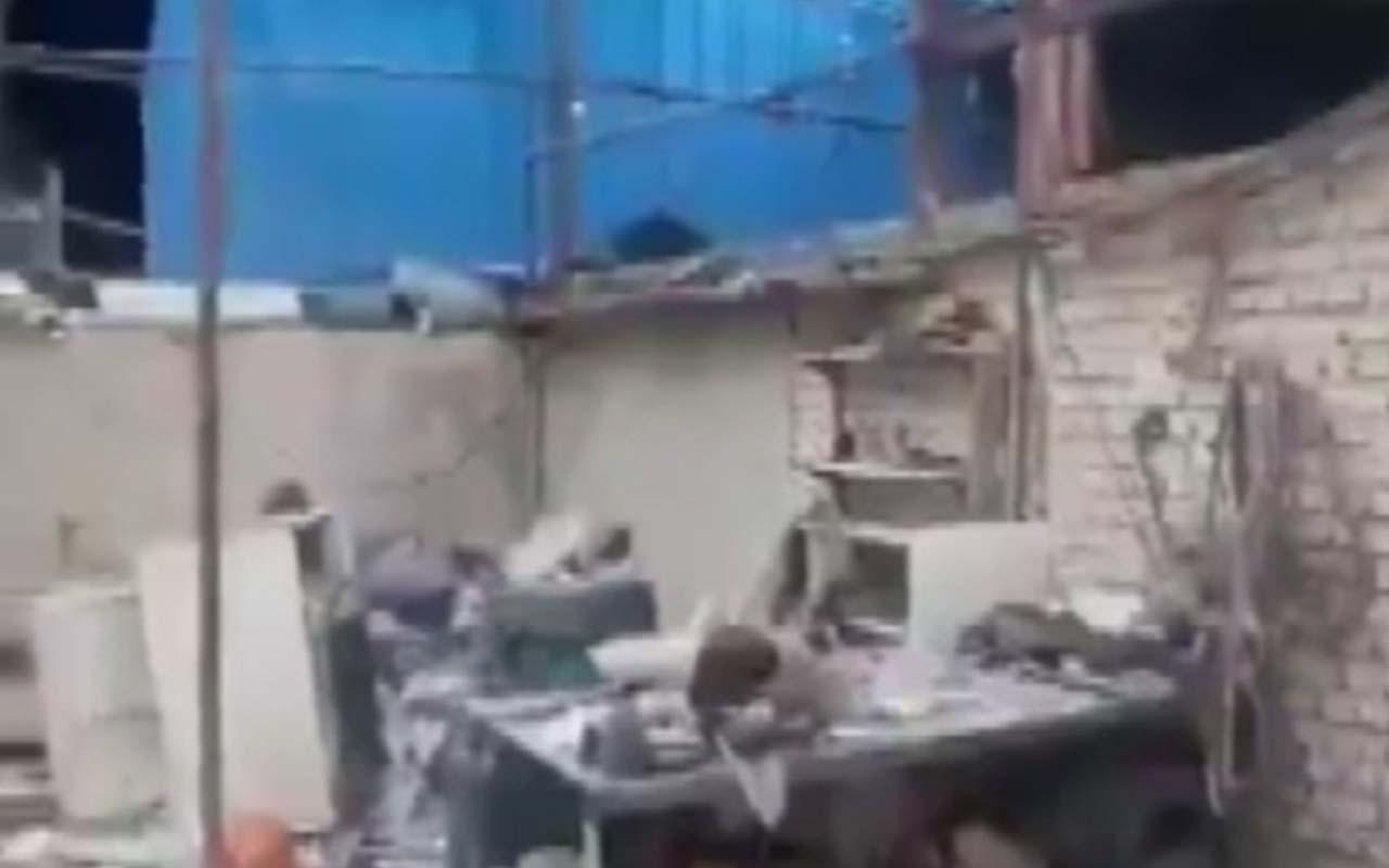Tahran yakınlarında oksijen tankı patladı: 2 ölü 3 yaralı