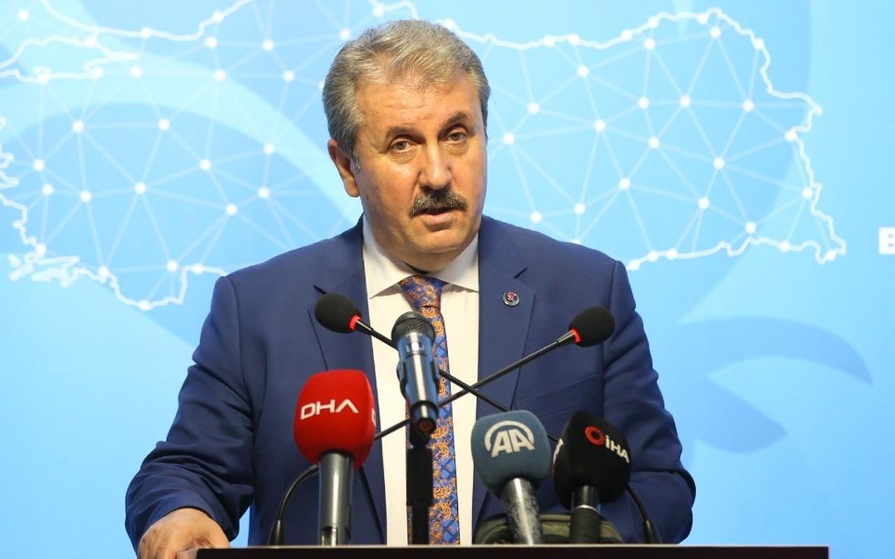 BBP Genel Başkanı Mustafa Destici: Bu baro kanunu değişmeliydi