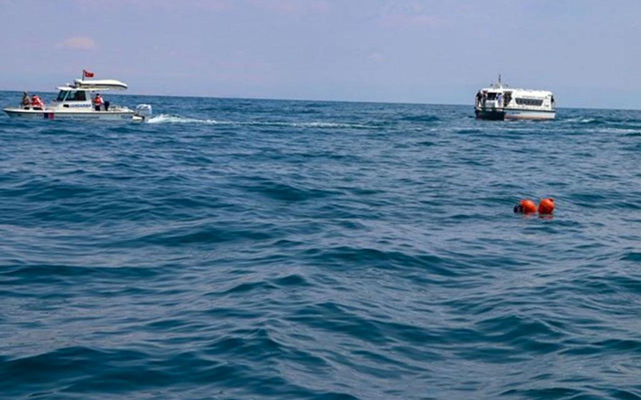 Van Gölü'nde kaybolan tekne bulundu! 107 metre derine batmış!