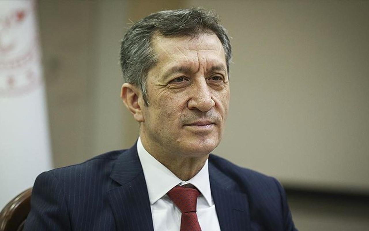 Milli Eğitim Bakanı Ziya Selçuk'tan okulların açılış tarihiyle ilgili önemli açıklama