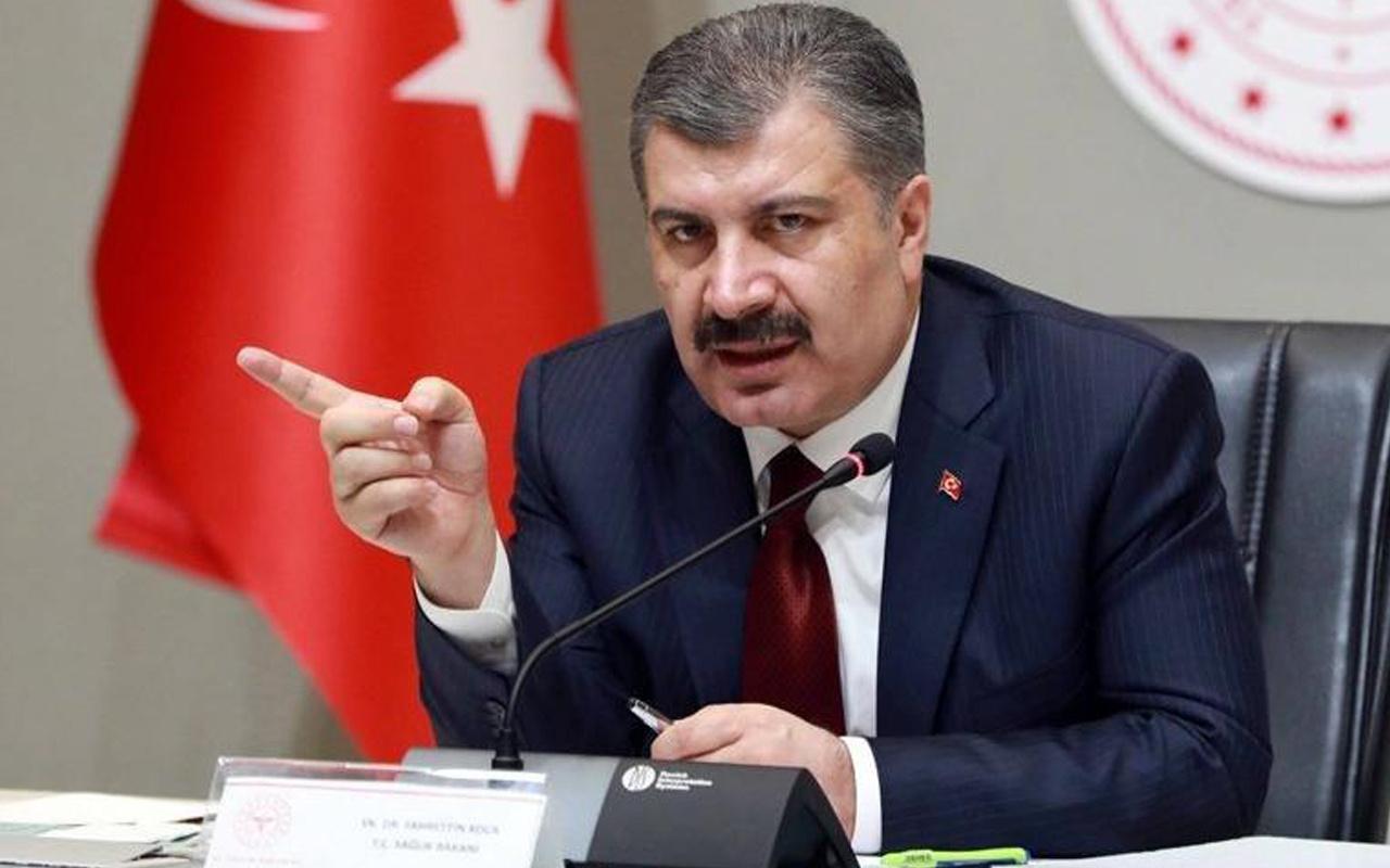 Sağlık Bakanı Fahrettin Koca açıkladı! İşte il il en çok ve en az vakaların görüldüğü yerler