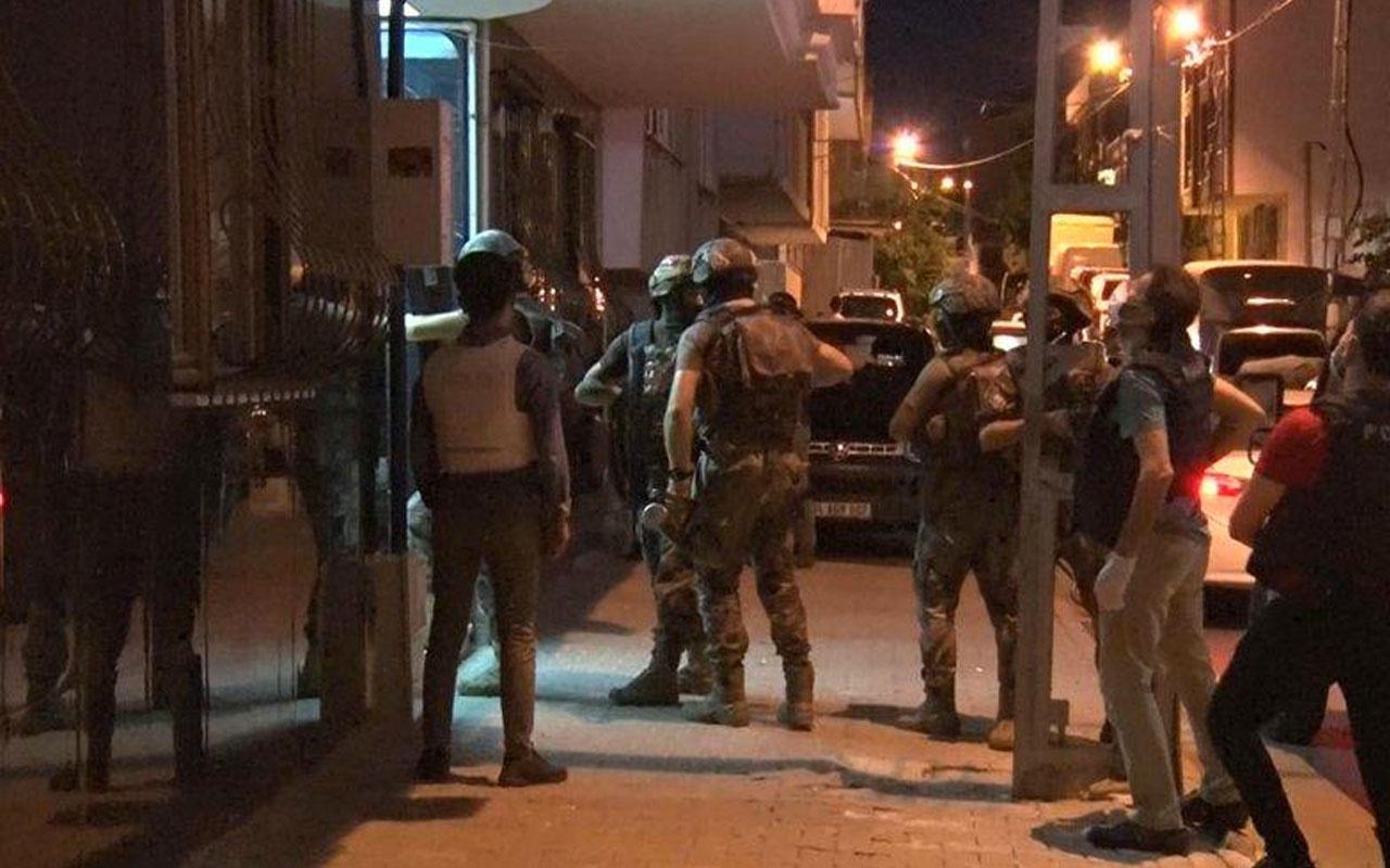 İstanbul'da dev terör operasyonu çok sayıda gözaltı var