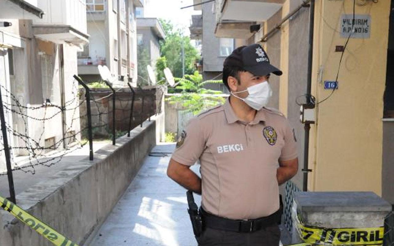 Kayseri'de 3 katlı bina karantinaya alındı