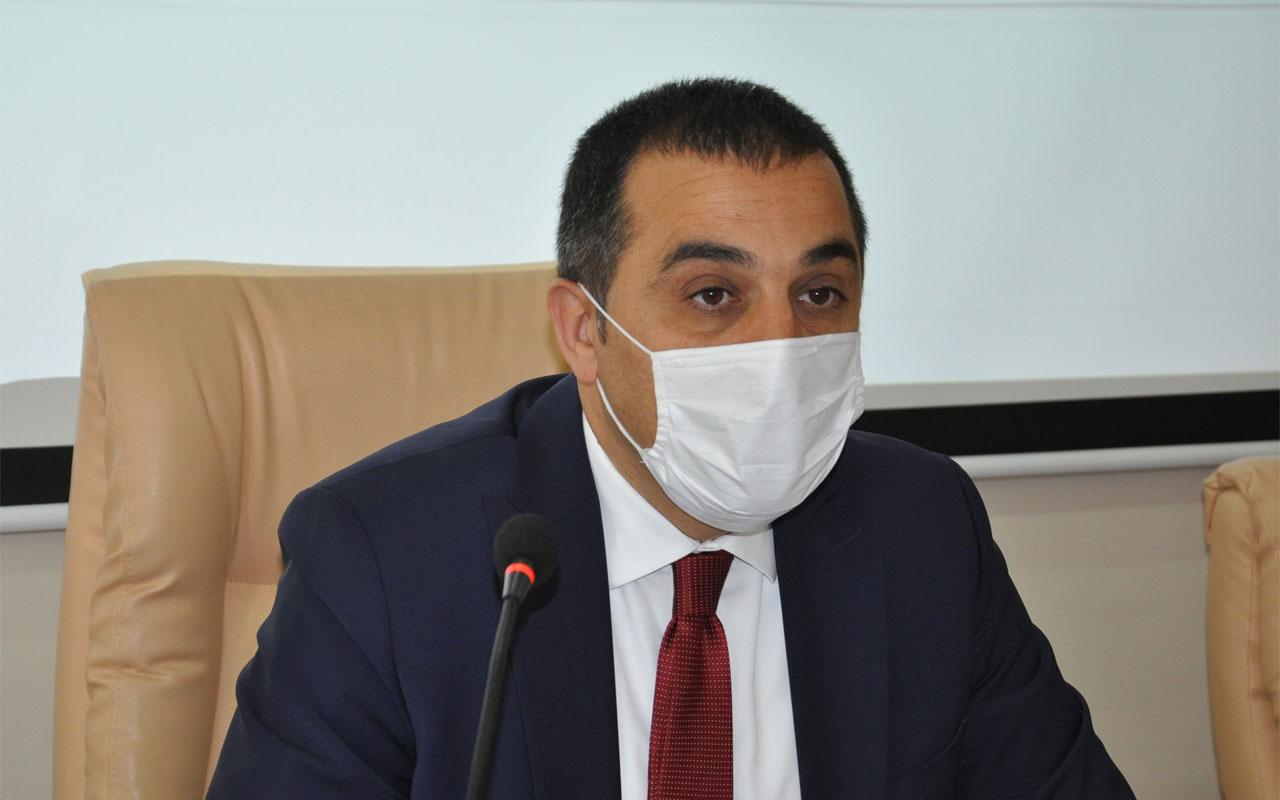Kars'ın Covid-19'la mücadelesini Vali Türker Öksüz açıkladı