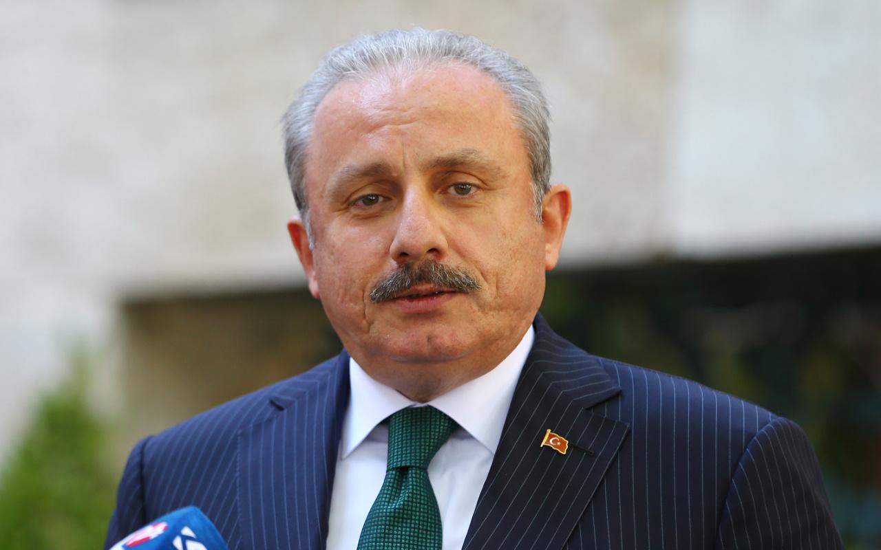 TBMM Başkanı Mustafa Şentop'tan Ayasofya'da ilk namaz açıklaması