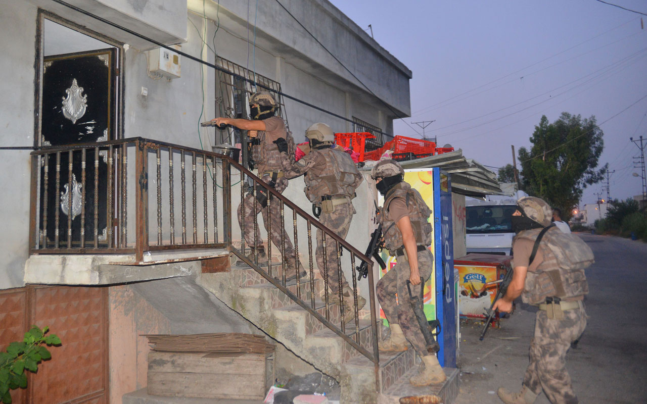 Adana'da terör örgütü PKK/KCK'ya operasyon: 17 gözaltı kararı