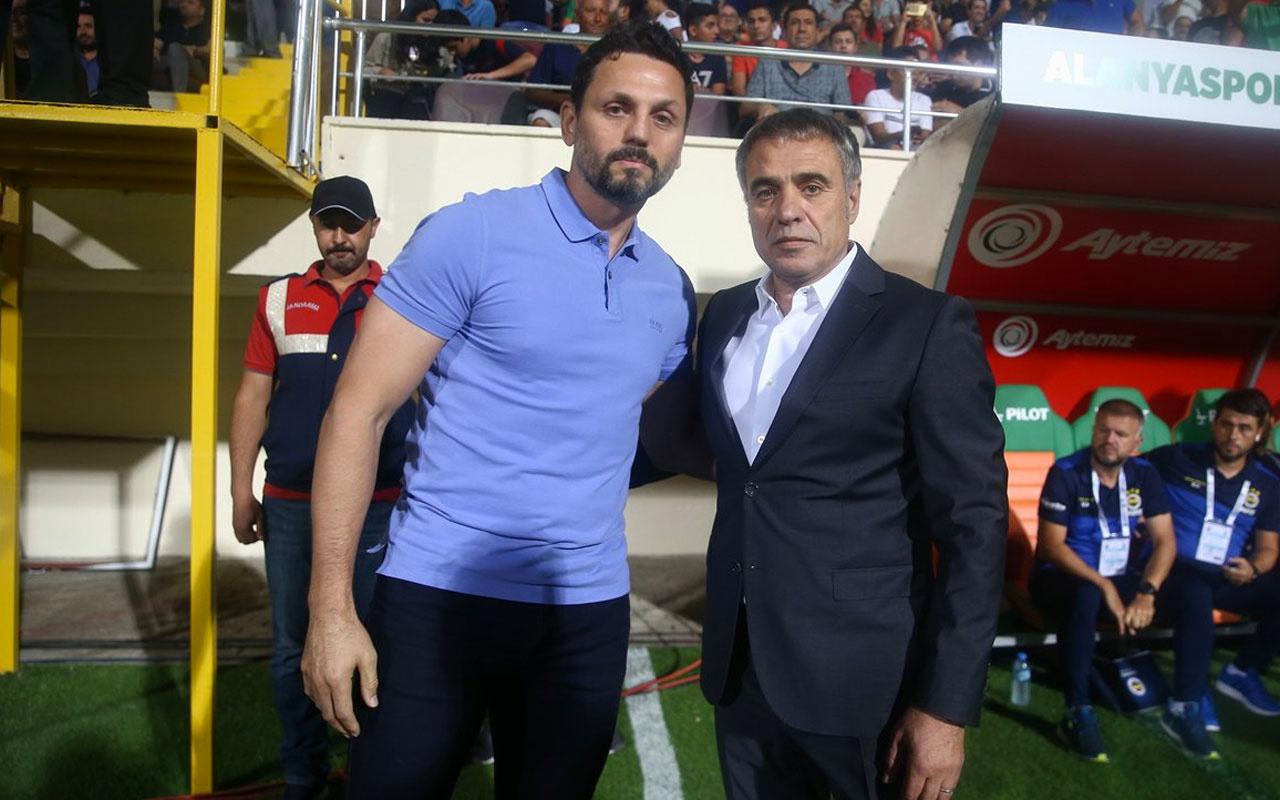 Erol Bulut Fenerbahçe'ye, Ersun Yanal Alanyaspor'a