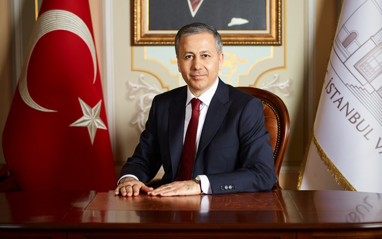 İstanbul Valisi Ali Yerlikaya'dan Ayasofya paylaşım