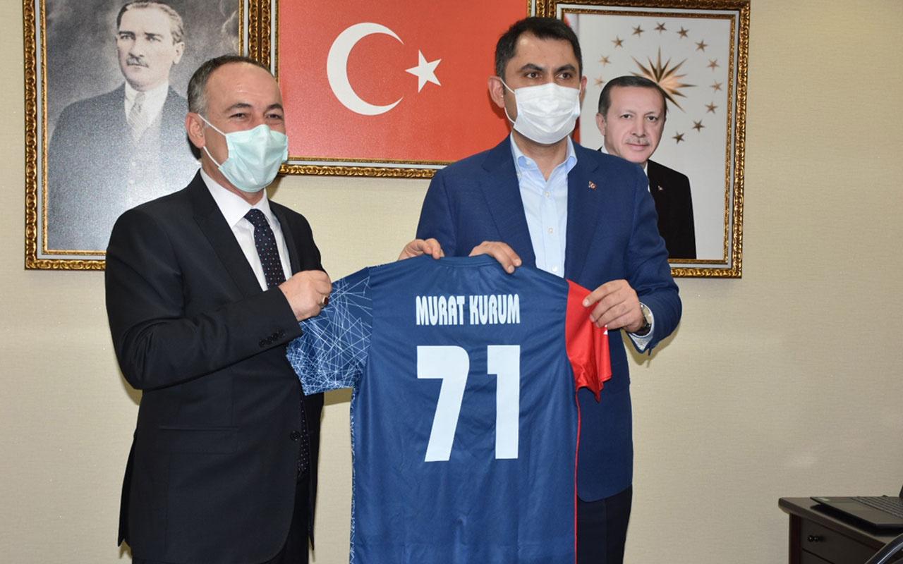 Çevre ve Şehircilik Bakanı Murat Kurum Kırıkkale Belediyesini ziyaret etti
