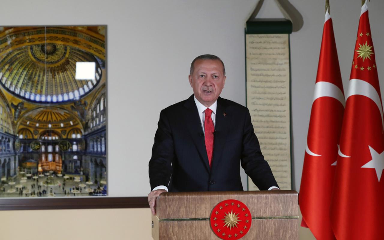 Erdoğan'ın Ayasofya konuşmasında 3 önemli mesaj!