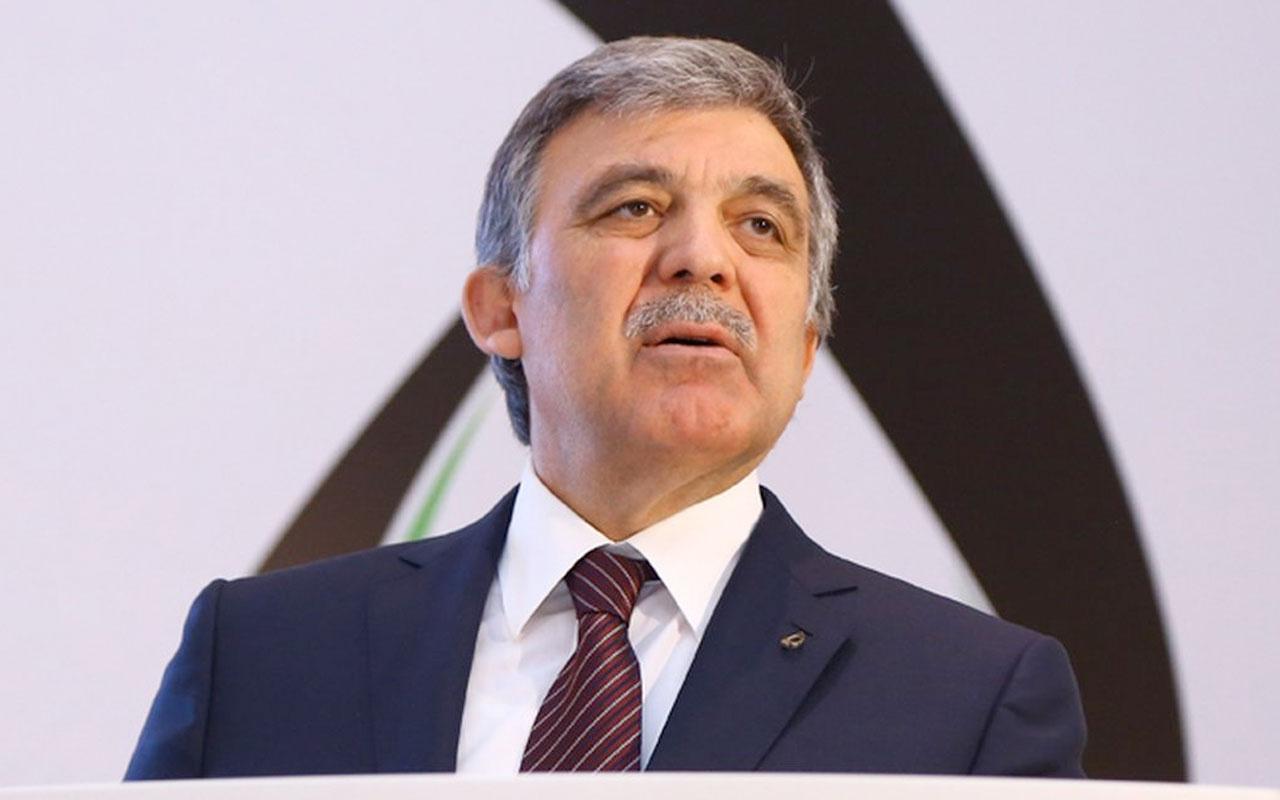 Abdullah Gül'den Ayasofya'nın cami olma kararına ilk yorum: Tebrik ederim
