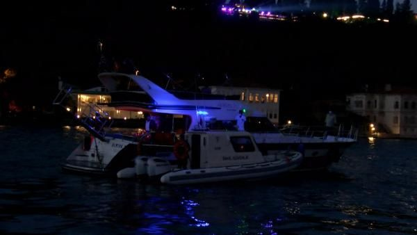 İstanbul Boğazı'nda teknelere koronavirüs baskını! Koronavirüs partisi düzenlemişler