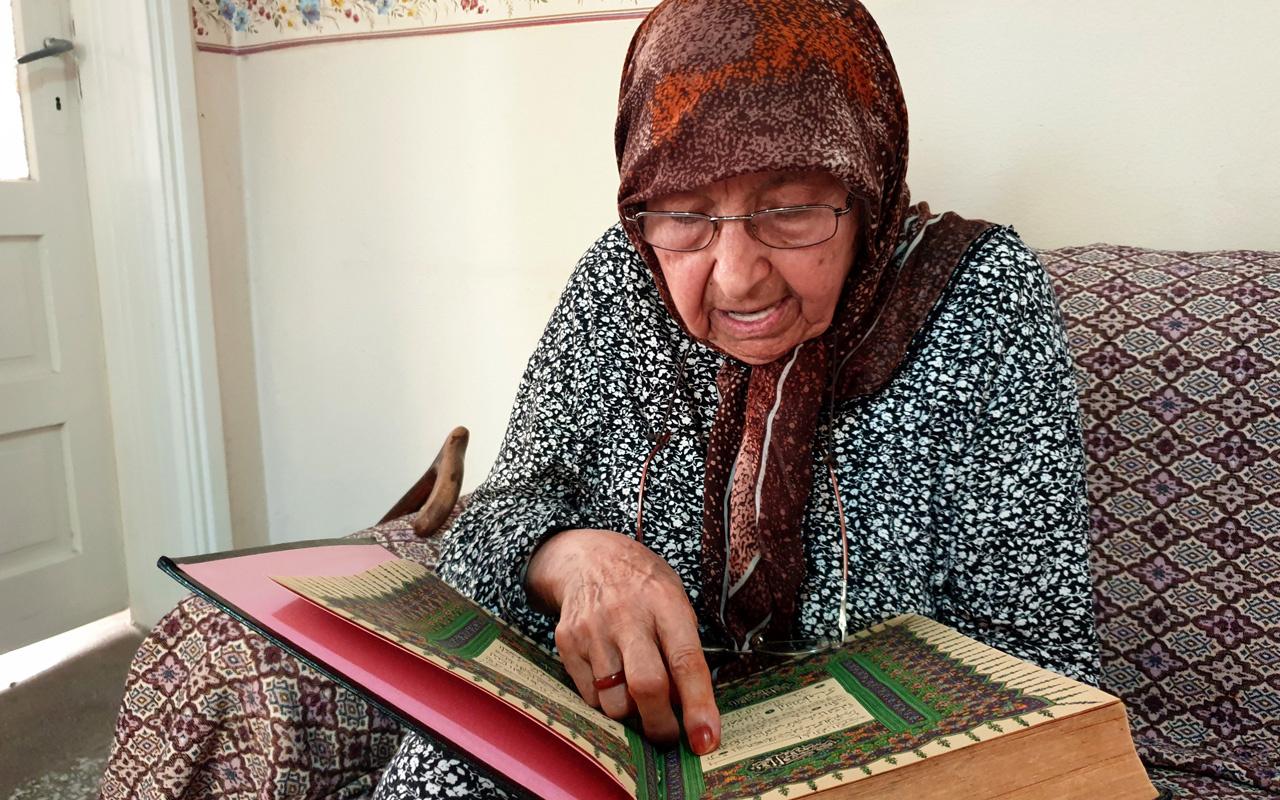 Osmaniye'de uzun yaşamın sırrını 108 yaşındaki Emine ninenin ağzından dinleyin