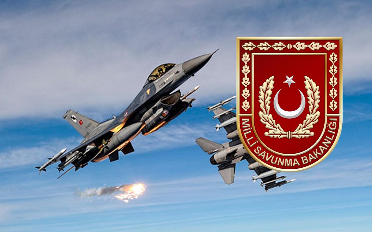Irak Havtanin'de 2 terörist etkisiz hale getirildi! MSB açıkladı