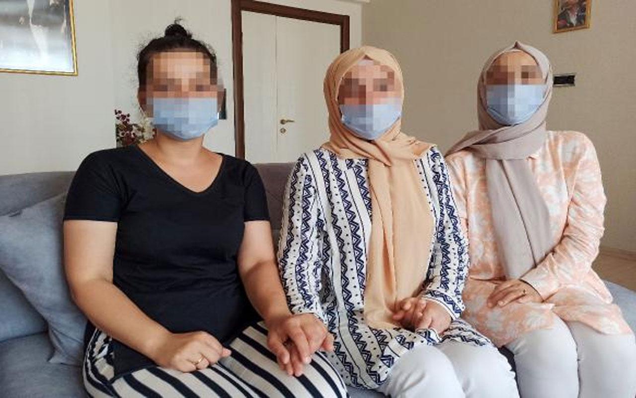 Mersin'de üç kız kardeşten taciz iddiası!