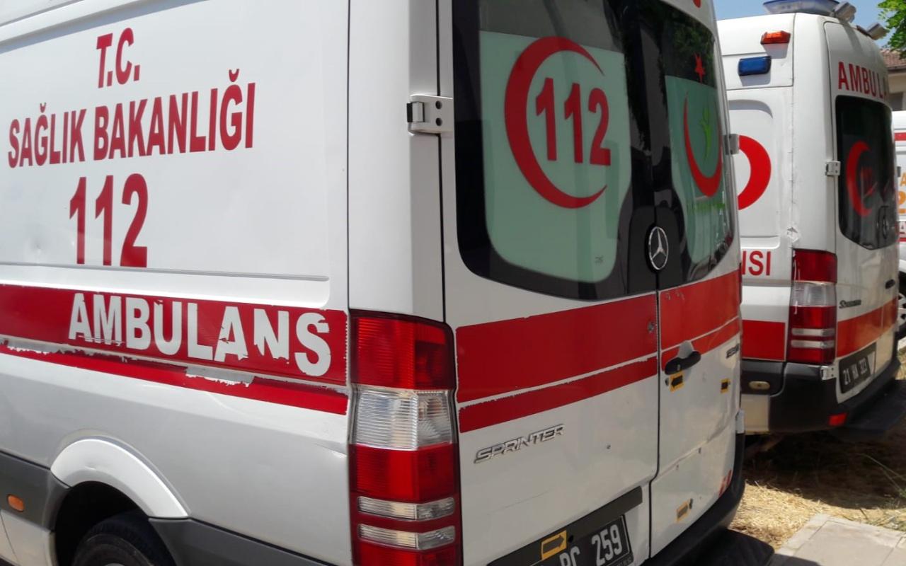 Diyarbakır'da doğum vakasına giden ambulansa silahlı saldırı