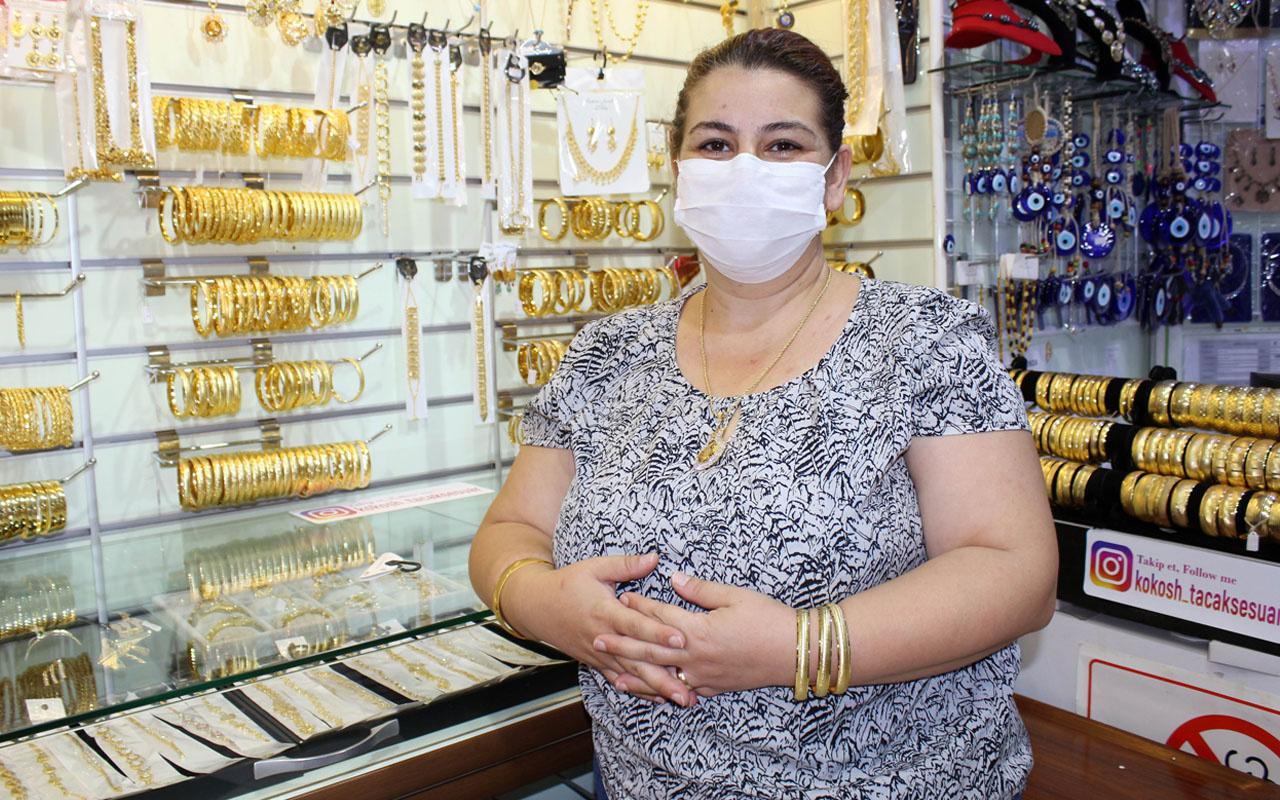 Altın fiyatları arttı imitasyon ürünler kurtarıcı oldu