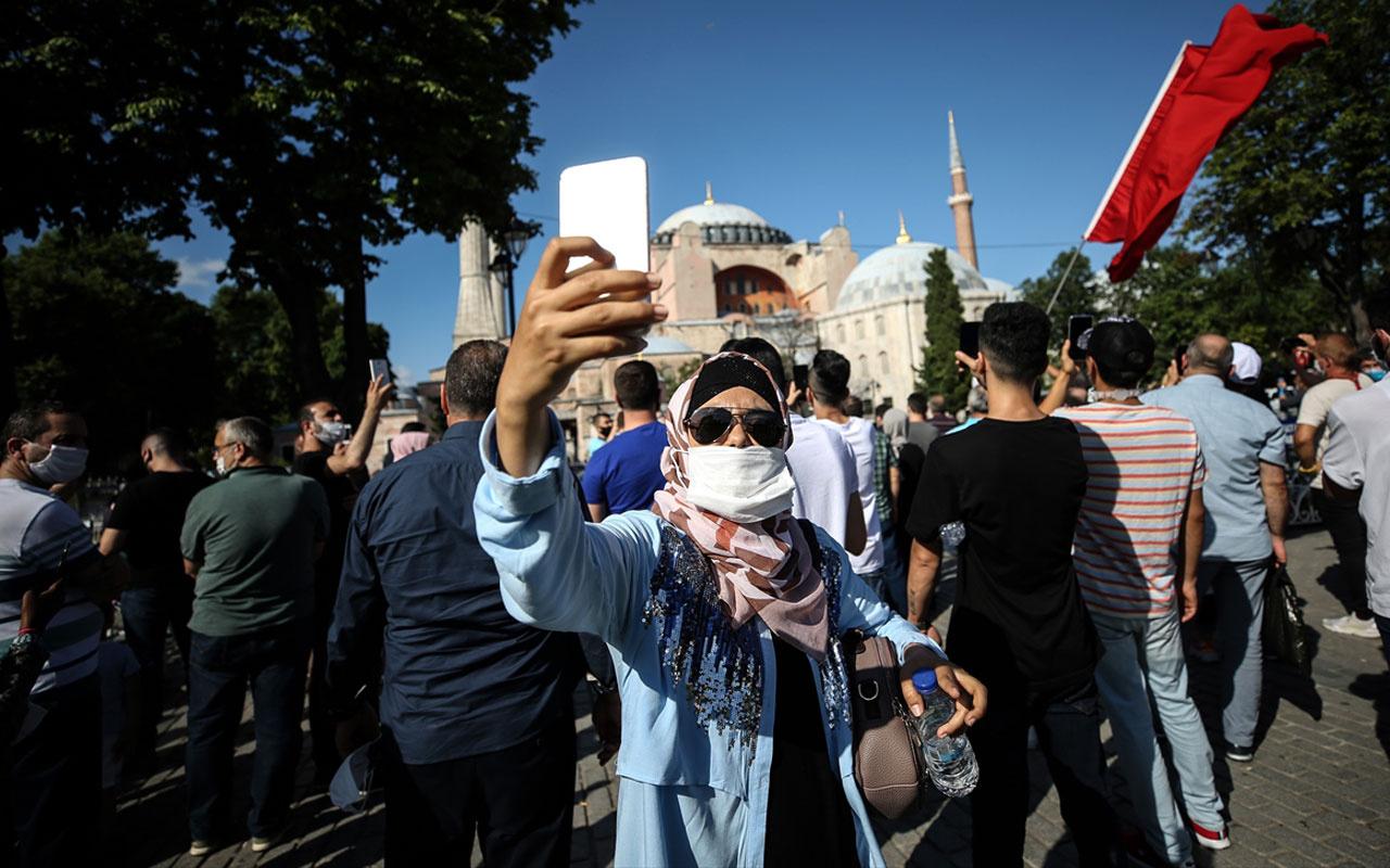 Umman Müftüsünden Türk halkınaAyasofyatebriği