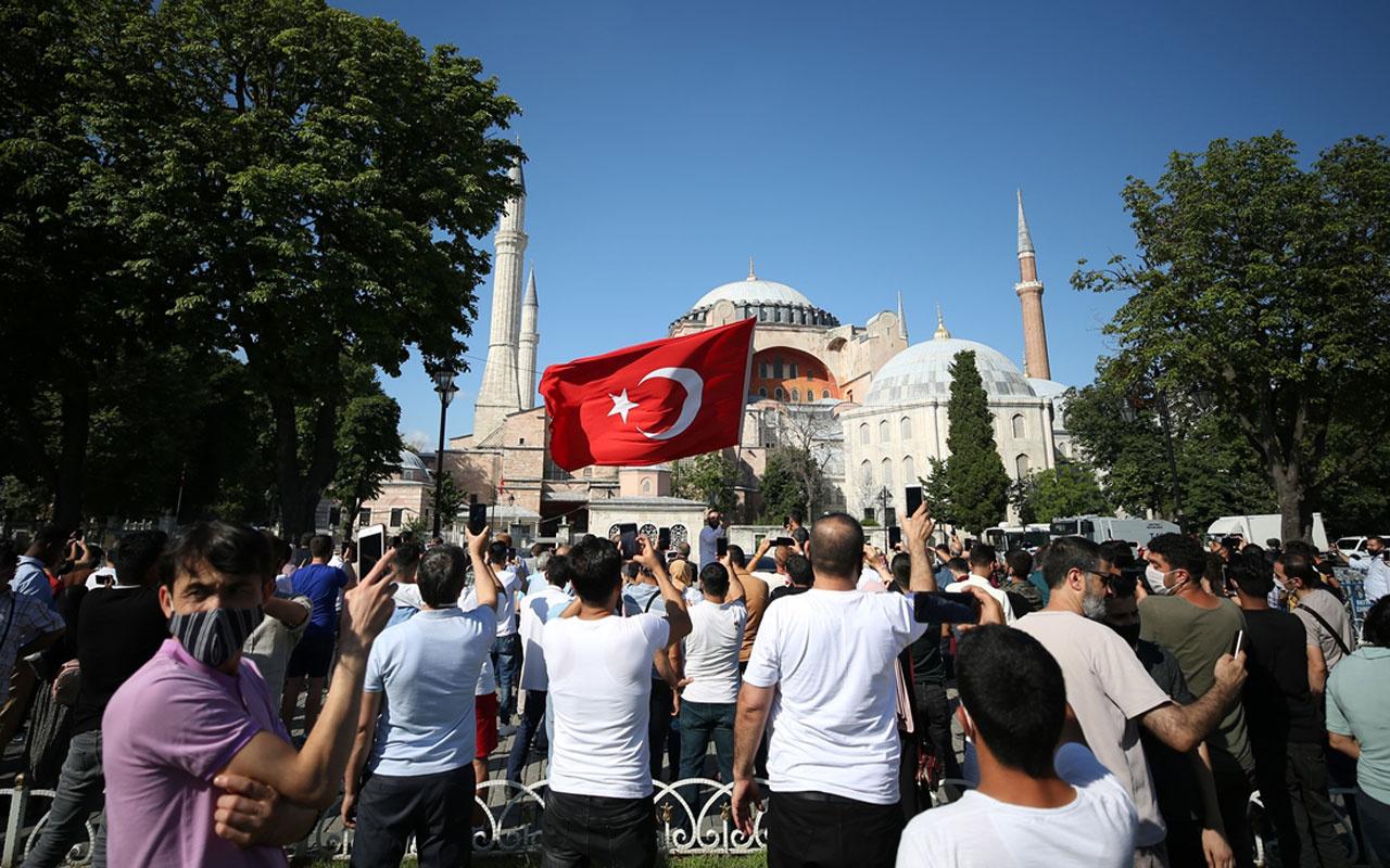 Ayasofya kararı sonrası Yunanistan'da Türk mallarına boykot çağrısı