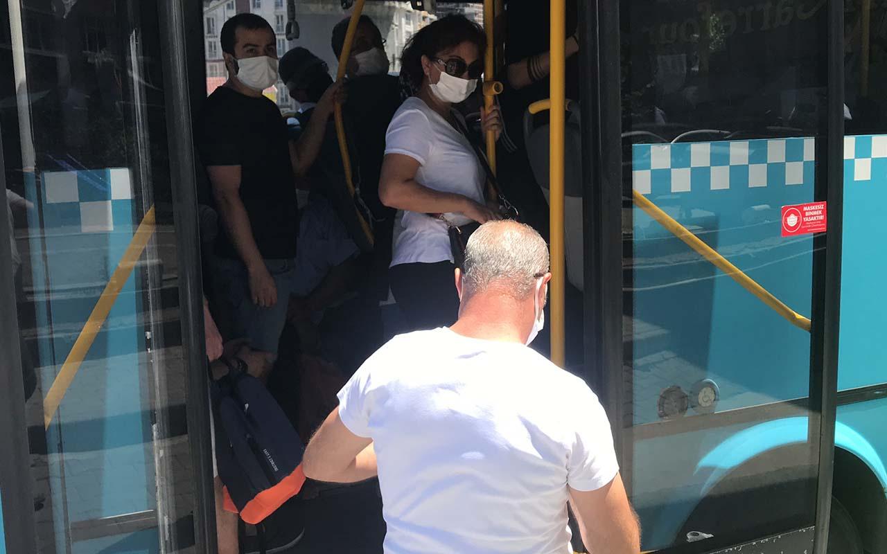 Hadımköy'de 'pes' dedirten manzara! 48 yolcu çıktı