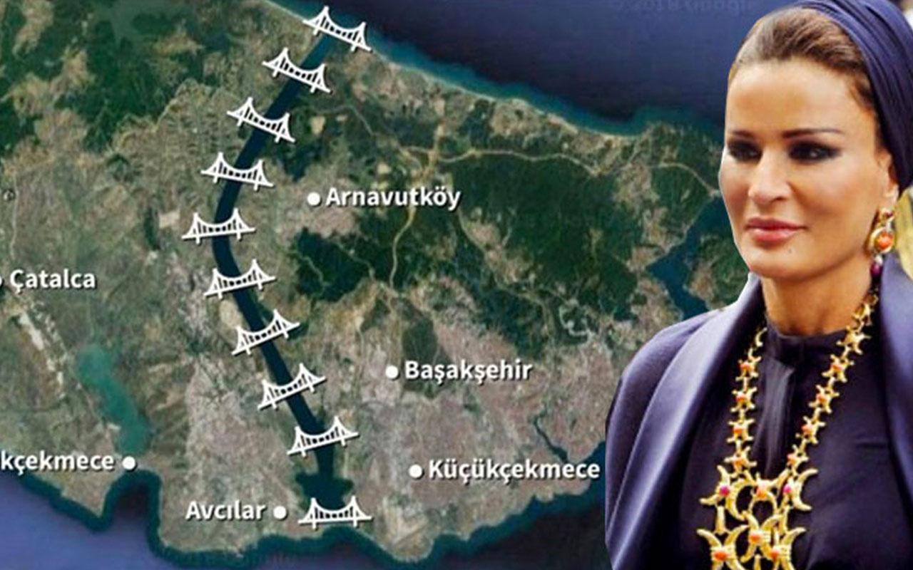 Kanal İstanbul'da imar planları onaylandı Katar Emiri'nin annesinin arazisi bakın ne olacak