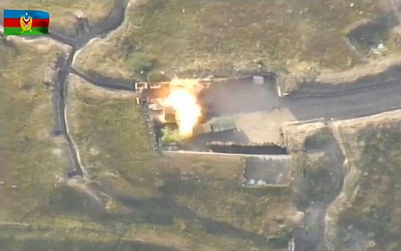 Azerbaycan-Ermenistan sınır hattında sıcak çatışma! 100 Ermeni askeri öldürüldü