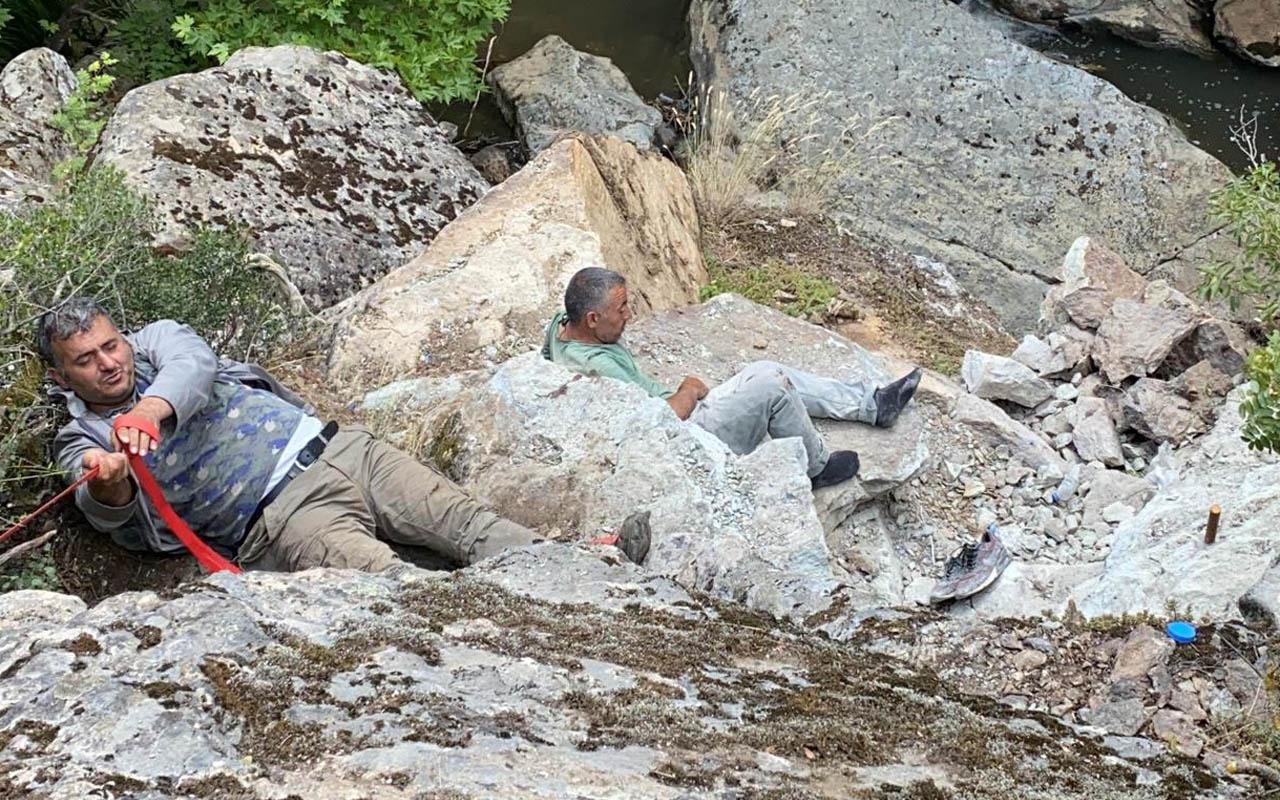 Bursa'da iki kişi define için dinamit patlatınca olanlar oldu