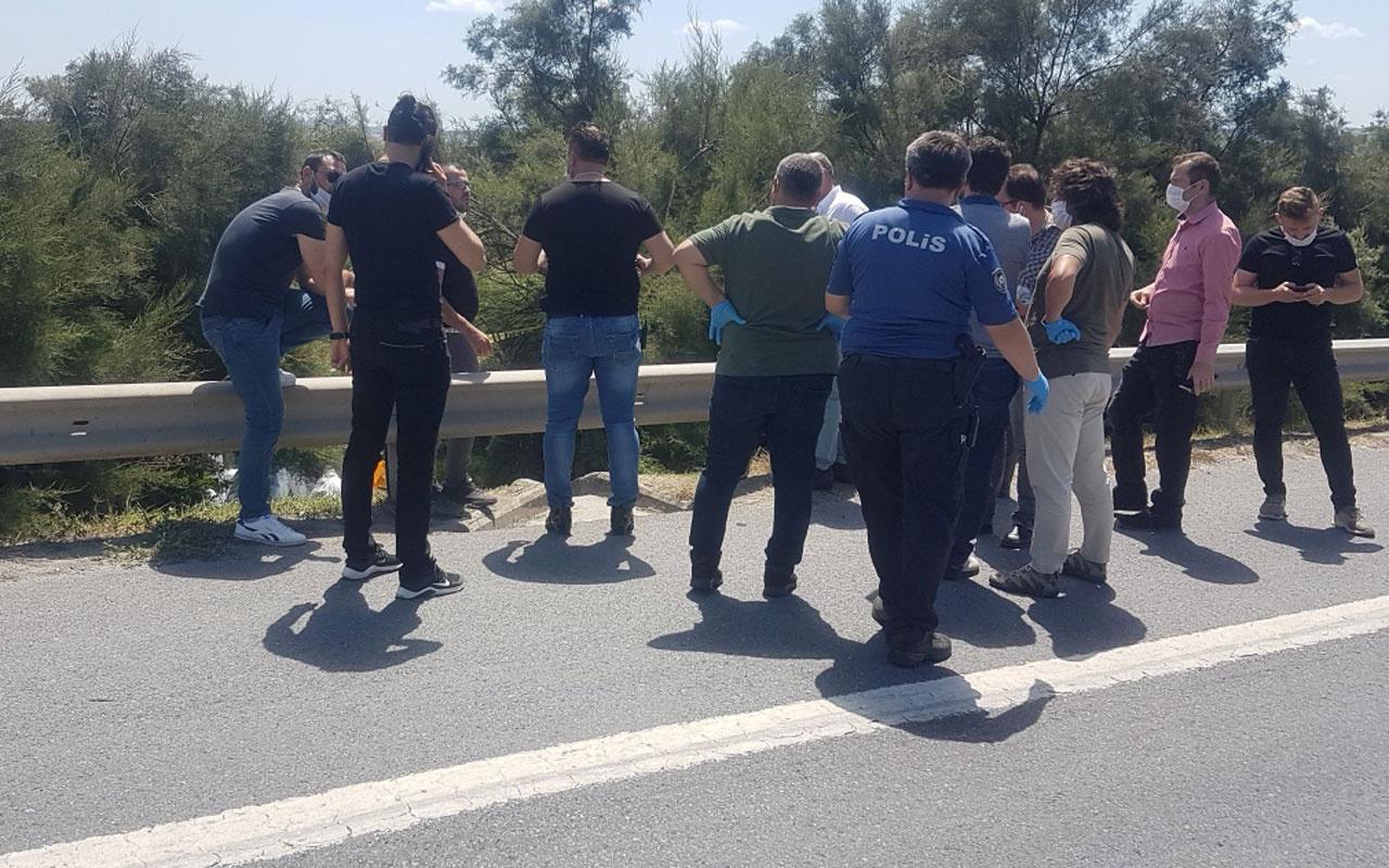 İstanbul'da dehşet! TEM kenarında poşet içerisinde ceset parçaları bulundu